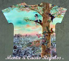 Camiseta ilustración fantasía