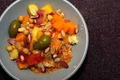 Squash and Chickpea Moroccan Stew//smittenkitchen