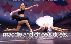 Little Things About Dance Moms- I wish they would have these duets again!