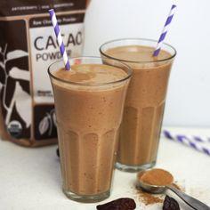 Chocolate Coconut Milkshake (Vegan, Paleo)