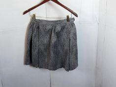 Vintage Paisley Print Mini Skirt size Small $12.00 #craftshout03/19