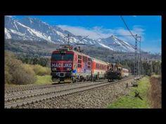 ŽSR 180 Košice - Žilina IC 44 Macejko / ŽSR MUV (Štrba) - YouTube Train, World, Youtube, The World, Zug, Strollers, Trains, Earth