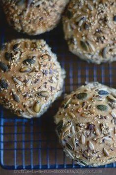 Trufla: Dziewiąty Światowy Dzień Chleba/ World Bread Day How To Make Bread, Bread Making, Truffles, Muffin, Healthy Eating, Cookies, Chocolate, Baking, Breakfast
