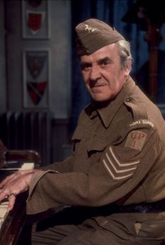 British comedy actor John Le Mesurier, best known for his role as Sergeant Wilson in Dad's Army, died on 15 November, 1983, aged 71. Description from pinterest.com. I searched for this on bing.com/images