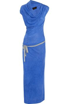 Cliff jersey maxi dress by Vivienne Westwood Anglomania