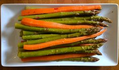 Spicy Asparagus Carrot Refrigerator Pickles | One tomato, two tomato