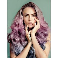 Tag a friend that would suit this hair! @caradelevingne #caradelevigne #hairfashion #curls #hair #inspo #haircolour #hairtrend