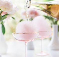 Cotton candy champagne awesomeness