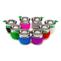 Smoking Dogo Wholesale  Rondom Colors Innovative Shisha Hookah Silicone Apple on Top Bowl