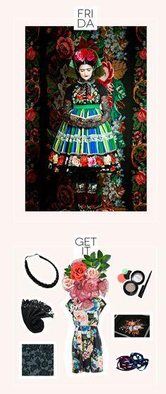 costumes for art lovers: frida