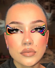 "✿🌷♡ 𝔪𝔞𝔨𝔢𝔲𝔭 𝔰𝔢𝔫𝔭𝔞𝔦 ♡🌷✿ on Twitter: ""graphic liner has been making points lately, thought i'd do a lil sum:)  inspo: by.sulli on instagram… """