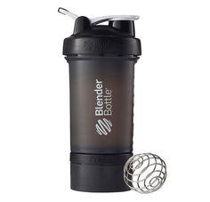 Fitness Gym Bottle Extra Jar Lid Powder Protein Pills Supplement Crossfit Black #BlenderBottle