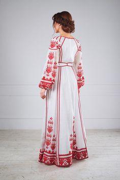 Сукня ексклюзивна з вишивкою, фото 3