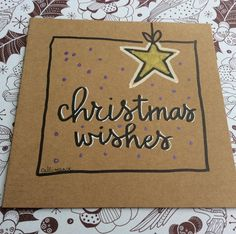 Eigen werk Magda DeGryse ! Callimanse ! Kerstkaartjes gehandletterd ! #kerstkaart #kerstkaarten #christmascard #christmascards #handlettering #christmaswishes Christmas Gift Decorations, Christmas Cards To Make, Christmas Wishes, Xmas Cards, Diy Cards, Christmas Diy, Christmas Doodles, Beautiful Christmas Cards, Beautiful Calligraphy