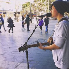 and who said you couldn't get a career through busking