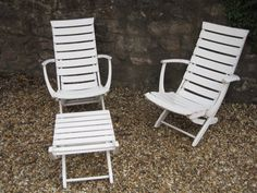 Triconfort Mid Century Riviera Pool Chairs and by RubydoDesigns
