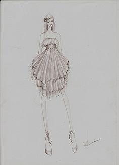 Fashion sketches | Fashion illustration | Fashion design info