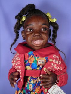 Rare Lorna Miller Sands Makeah Toridan One-of-a-Kind African American Doll