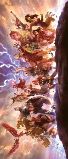 Avengers by Alex Garner *