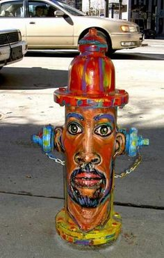 Fire Hydrant#street art https://www.facebook.com/pages/Creative-Mind/319604758097900