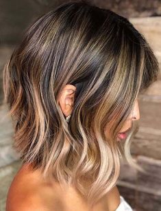 43 Dimensional Balayage Ombre Hair Colors for 2018. Do you know the actual difference between balayage and ombre hair colors? If not then you can visit this post to know about these hair colors terms. These are famous hair colors because famous celebrities and fashionable women around the world use to sport these elegant balayage and ombre hair colors for charming looks