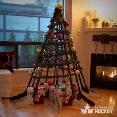 Now that's a Canadian Christmas tree