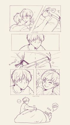 Read from the story Jungkook¡Bottom! Fanart's by KookiecomToddy (𝒮𝓇𝒶. Vkook Fanart, Jungkook Fanart, Yoonmin Fanart, Bts Jungkook, Taehyung, Daddy's Little Boy, Vkook Memes, Mundo Comic, Cute Gay Couples