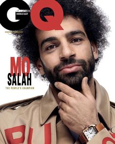 Egyptian and Liverpool forward, Mohamed Salah is the latest star for the cover of GQ Magazine Liverpool Football Club, Liverpool Fc, Kfc, Logo Coca, Gq Magazine Covers, Mohamed Salah Liverpool, Muhammed Salah, Star Magazine, Magazine Photos