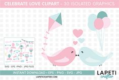 Download Wedding hot air balloon clipart, love clipart, valentine day today! #lapeticrafter #hotairballoon #valentinesday #loveclipart #instantdownload #designbundles Illustrations, Graphic Illustration, Hot Air Balloon Clipart, Baby Shower Clipart, Create Invitations, Design Bundles, School Design, Free Design, Design Elements