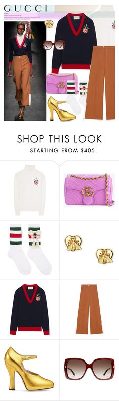 """""""BA 169: Gucci"""" by bugatti-veyron ❤ liked on Polyvore featuring Gucci"""