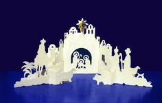 Nativity cutting files and nativity scenes on pinterest