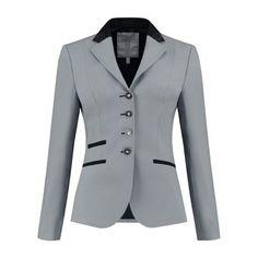 Grey, Black Swarovski® Elements Show Jackets, Equestrian Style, Black Diamond, Black And Grey, Swarovski, Blazer, Tweed, Glamour, Clothes