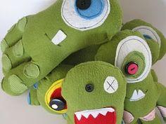 Multiple monster dolls!