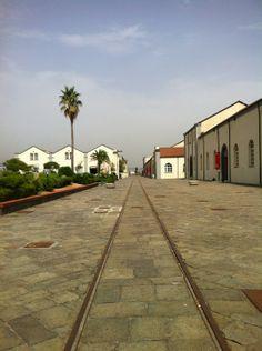 Museo Nazionale Ferroviario di Pietrarsa, Portici, Campania.