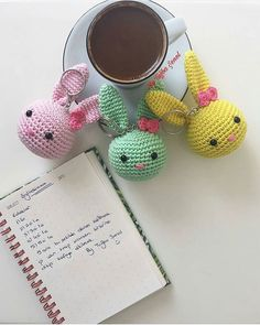 # ・ ・ ・ # 🐰 # Yesterday # keychains # sharing # for # for # lot # bought # actually # much when you wanted # – crochet pattern Crochet Baby Toys, Crochet Bunny, Crochet Animals, Crochet Dolls, Free Crochet, Small Crochet Gifts, Mini Amigurumi, Kawaii Crochet, Crochet Keychain