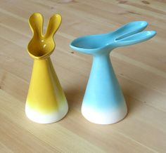 Rabbit Vessel by perchceramics on Etsy, $48.00
