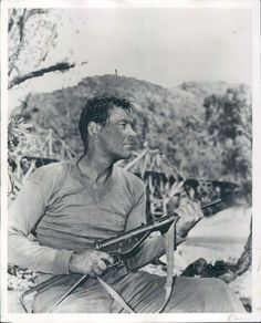 Actor William Holden in The Bridge on The River Kwai