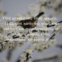 Greek Quotes, Picture Video, Wise Words, Natural Remedies, Clever, Roses, Inspirational Quotes, Messages, Thoughts