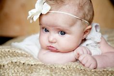 6 month baby picture ideas | Becky Novacek Photography | 6 month baby pic ideas