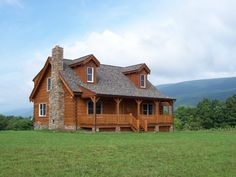 I love old cabins, but we would totally be happy with this little cabin