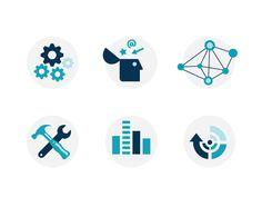 PMG Process Icons by Alana Mandel