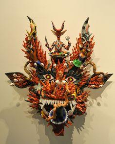 Devil Mask Michoacan Mexico | by Teyacapan