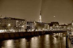 Lichter in Hamburg