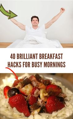 If you are like many parents, you want to make sure that you and your family start the day off right with a good breakfast. Whether this is in the tricks you use to make eating a good breakfast easier or recipes for easy-to-make meals, anyone can benefit from hacks designed to make the morning go more smoothly. 40 #Brilliant #Breakfast #Hacks #for #Busy #Mornings Breakfast Snacks, Paleo Breakfast, Best Breakfast, Veggie Muffins, Asdf, Magic Tricks, Start The Day, Recipe Of The Day, Funny Humor