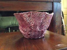 Patchwork ceramic bowl