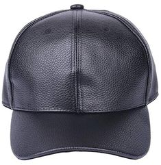 2c4761c2c06 Bigood(TM) PU Leather Solid Adjustable Baseball Golf Cap Outdoor Hat Review