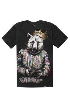 Rook Biggie Bear V4 Tee #pacsun