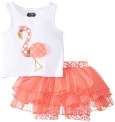 Mud Pie Baby-Girls Newborn Flamingo Skirt Set, Pink, 0-6 Months$14.55 - $48.95 & FREE Returns on some sizes and colors