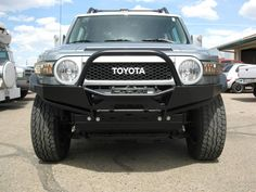 Plate Front Bumper FJ Cruiser $849.00 : Addicted Offroad  whoa, love this one!!