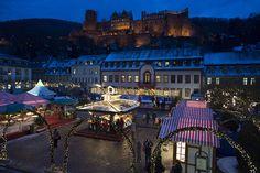 Eisbahn, Foto: Philipp Rothe Weihnachtsmarkt  Heidelberg